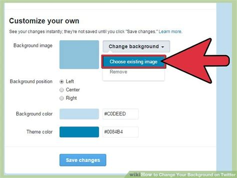color themes on twitter how to change your background on twitter 12 steps with