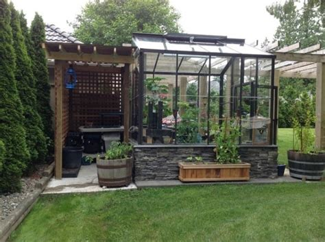 Storage Shed Greenhouse by Greenhouse Storage Shed The Garden Outdoor Spaces