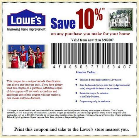 lowe s coupons coupon