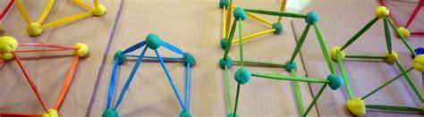 figuras geometricas hechas con material reciclable figuras geom 233 tricas con palillos y plastilina semana