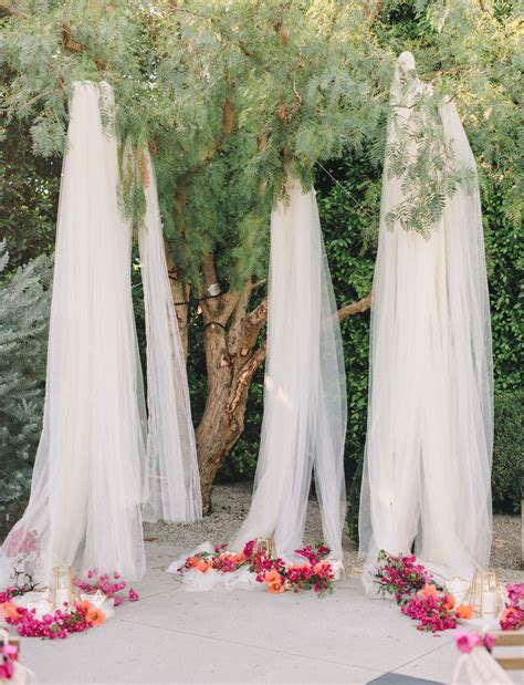Wedding Backdrop Trees by 10 Creative Ways To Use Fabric In Your Wedding Ethereal