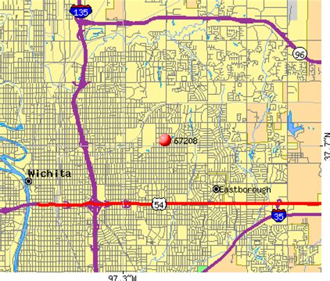 zip code map wichita ks 67208 zip code wichita kansas profile homes