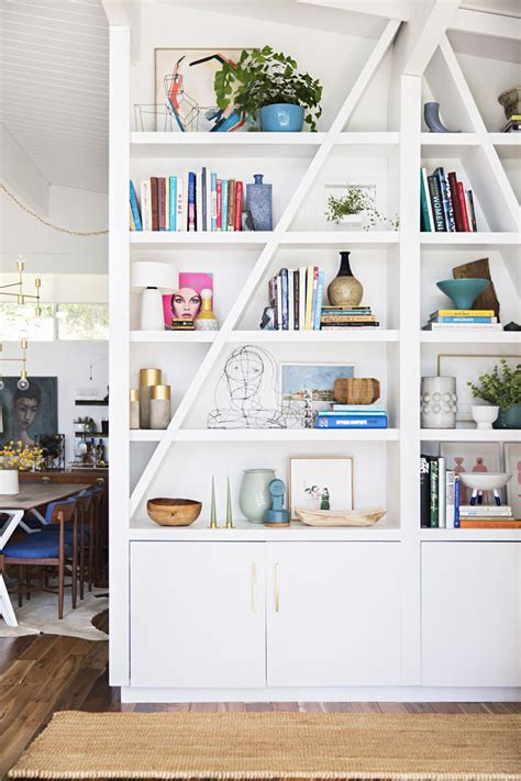 5 steps to perfectly styled shelves with west elm four steps to chic styled shelves the chriselle factor