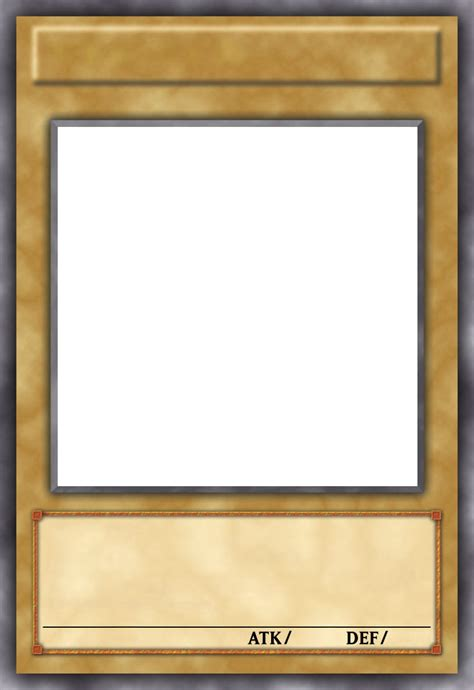 Blank Yugioh Card Template by I Need Some Additional Help On Cards With Inkscape