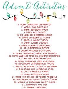 17 Best Ideas About Advent Calendar Activities On