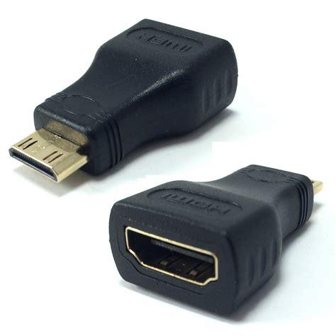 Converter Hdmi Mini To Hdmi mini hdmi to hdmi adapter keple