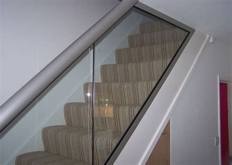 glass banisters uk stairs glass balustrades staircases glass railings