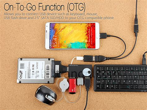 Dijamin Otg Micro Usb Type 03 On The Go Otg Original usb 3 0 microusb otg cable with microusb external power supply