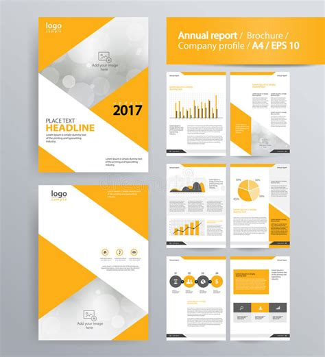 company profile book design template page layout for company profile annual report and
