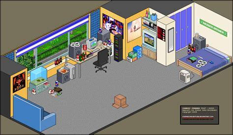 Nice Livingroom Pixel Art My Old Living Room By Soenkesadventure On
