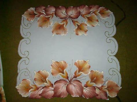 imagenes de flores individuales 501 mejores im 225 genes de pintura en tela manteles caminos