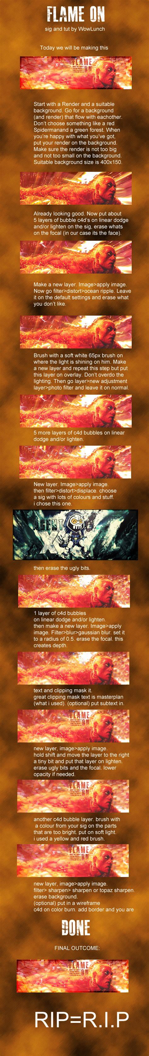 tutorial html signature advanced photoshop signature tutorial sythe