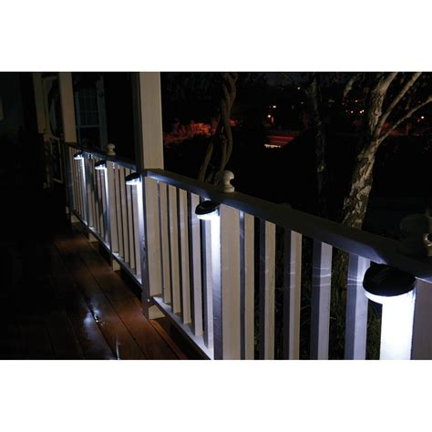 solar led fence light 4