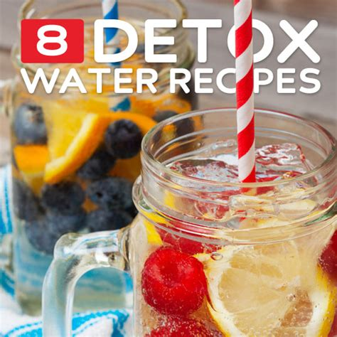 All Recipes Detox Water by 8 Detox Water Recipes To Flush Out Toxins