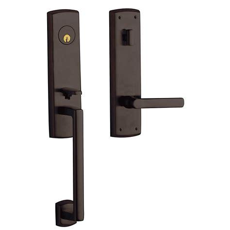 Baldwin Door Handleset - baldwin hardware estate series 85387 soho 3 4 escutcheon