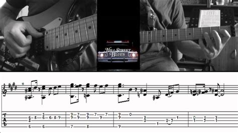 theme song hill street blues hill street blues theme by cloux tab and guitar lesson