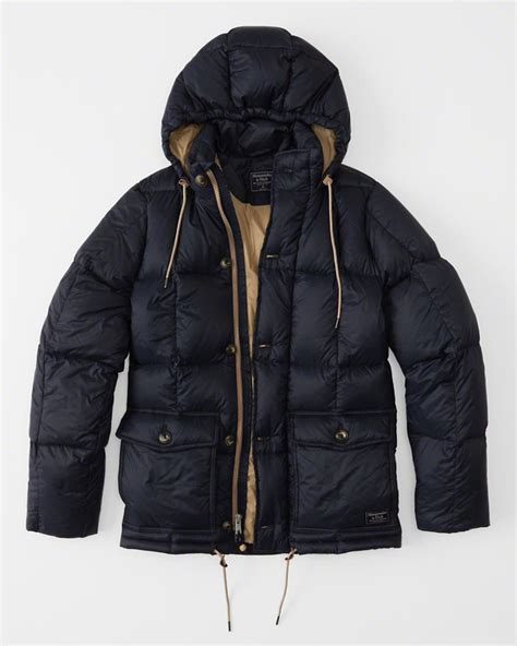 Hollister Puff Jacket mens puffer jacket mens clearance abercrombie