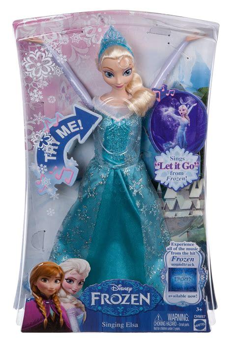 Elsa Frozen Fevern 2 Can Sing Song mattel disney frozen singing elsa doll toys