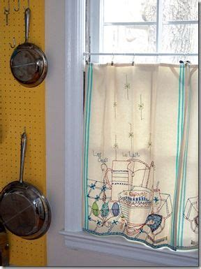 Sew Cafe Curtains 25 Best Ideas About Vintage Kitchen Curtains On