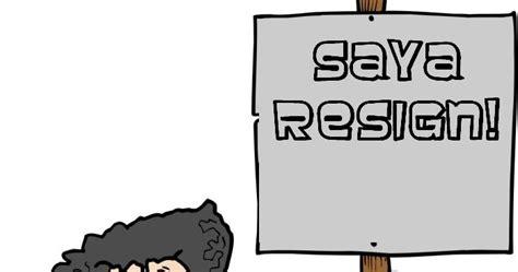 contoh surat pengunduran diri kerja yg baik resign