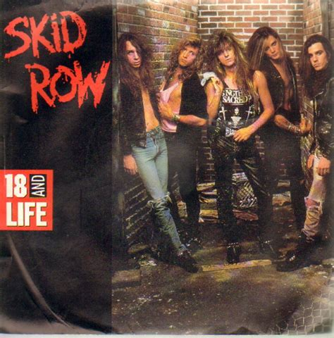 18 and on skid row books skid row 18 and records lps vinyl and cds musicstack