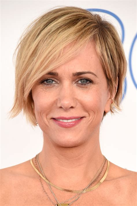 Kristen Wiig Hairstyles by Kristen Wiig Layered Razor Cut Layered Razor Cut