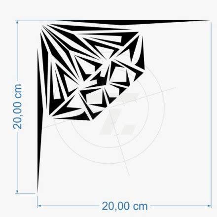 Aufkleber Designen Bestellen by Aufkleber Schmuckecke Design Diamant