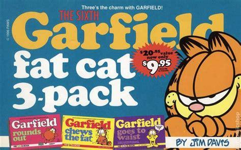 garfield cat 3 pack 11 books garfield cat 3 pack tpb 1993 2001 ballantine 1st