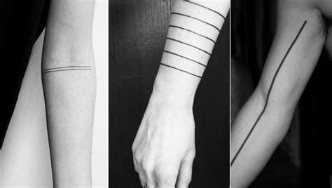 straight line tattoo line tattoos search persona
