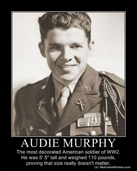 Medal Most Decorated Soldier by Audie Murphy