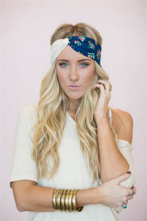 cute hairstyles with a headband boho headbands turband head wraps cute hair bands lace