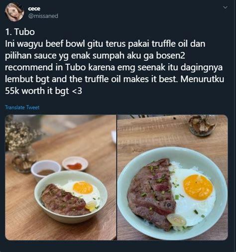 makanan enak  bisa dipesan  gofood rekomendasi