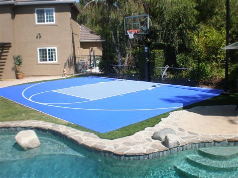 backyard sport court sport court of southern california introducing sportscape