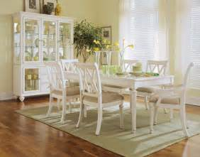White Dining Room Camden Antique White Dining Room By American Drew
