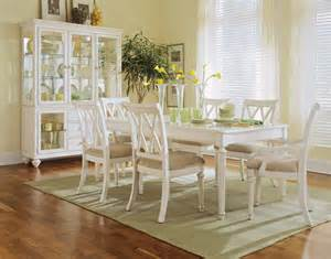 White Dining Room Table Set by Camden Antique White Dining Room By American Drew