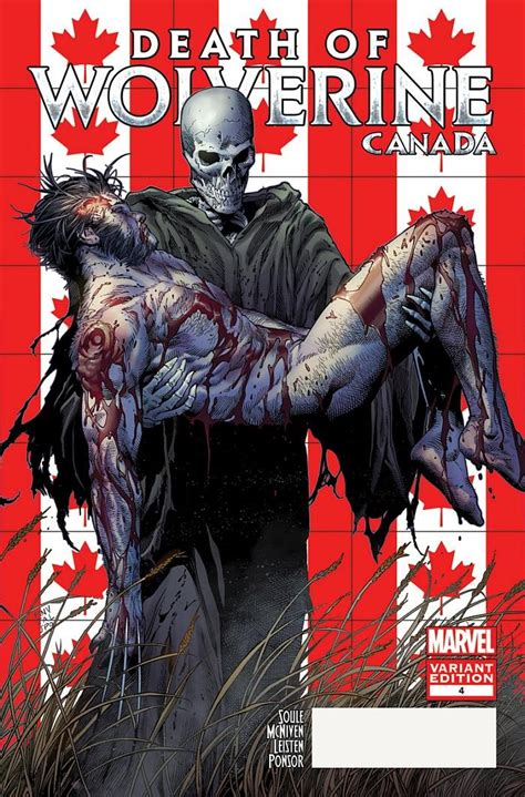 death of wolverine marvel announces death of wolverine canada variants