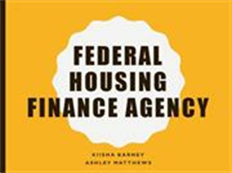 federal housing finance agency housing finance industry in india authorstream