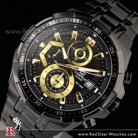 Jam Tangan Eiger Aconcagua Bk buy casio edifice black gold ion plated mens watches efr 539bk 1av efr539bk buy watches