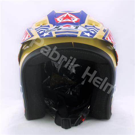 Helm Cross Carglos Motif New helm jpn cross pc18 motif cappucino pabrikhelm jual helm murah
