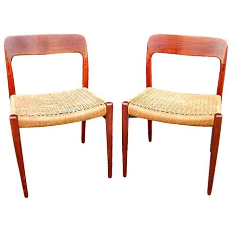 8 dining chairs by no moller at 1stdibs