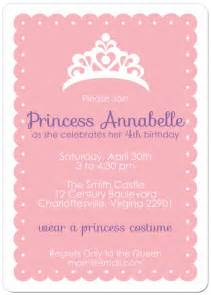 free printable princess tea invitations templates