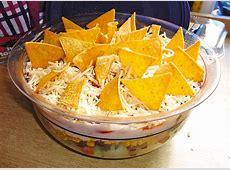 Taccosalat Schichtsalat — Rezepte Suchen Nacho Salat Rezept