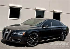 2013 audi a8 with 22 quot gianelle in matte black