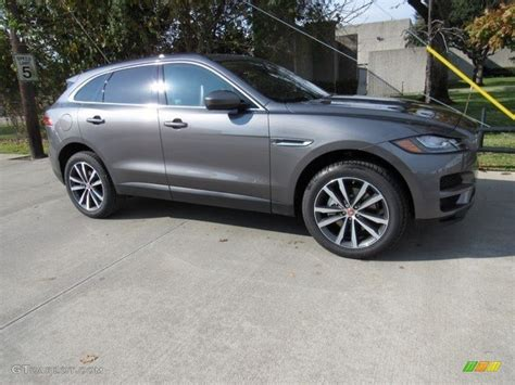 jaguar f pace grey 2017 ammonite grey jaguar f pace 35t awd prestige