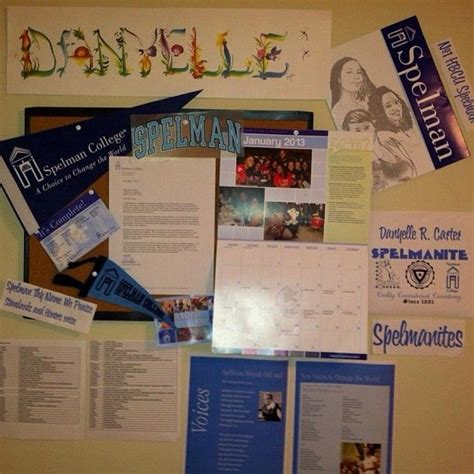 Spelman College Acceptance Letter Danyelle C 2016 Shares 2013 Spelman College Vision Board It Includes