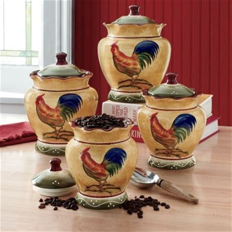 4 rooster canister set from montgomery ward s979580