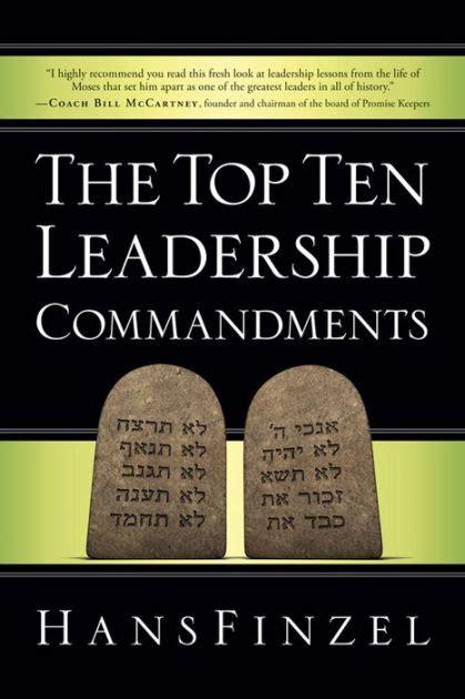 libro the seventh commandment twisty the top ten leadership commandments by hans finzel nook book ebook barnes noble 174