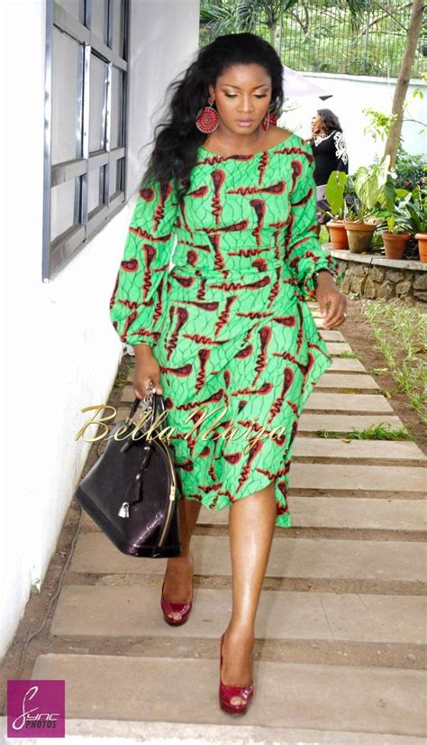 omotla nigerian styles with lace dresses printastic omotola jalade ekeinde in ada by alter ego