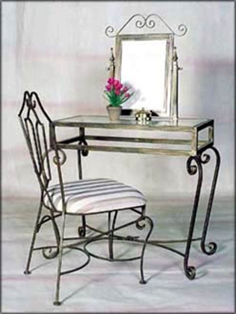 Wrought Iron Vanity Table by Wrought Iron Vanity Table With Mirror 36 Quot X56 Quot H