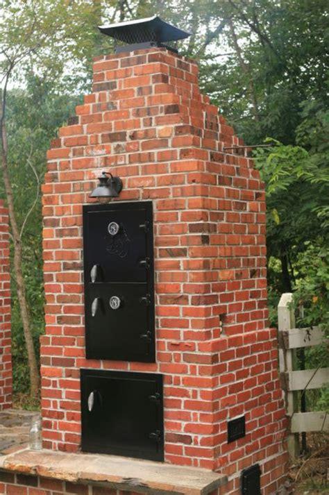 building a backyard smoker how to build a brick smoker